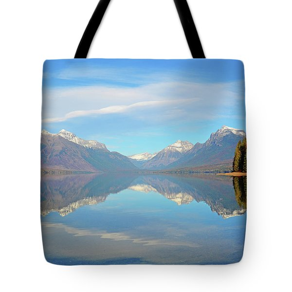 Sacred Dancing Reflections Tote Bag