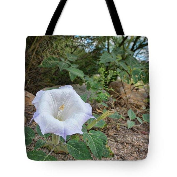 Tote Bag featuring the photograph Sacred Datura by Dan McManus