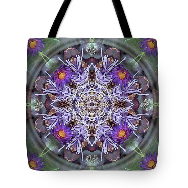 Sacred Emergence Tote Bag