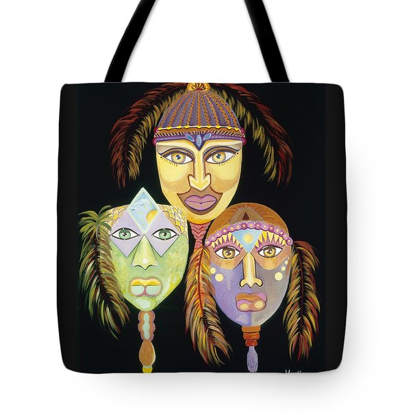 Sacred Feathers Tote Bag