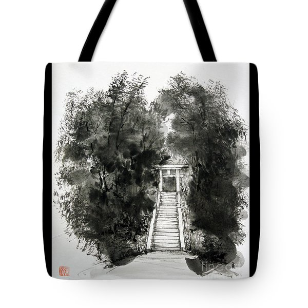 Sacred Gate  Tote Bag