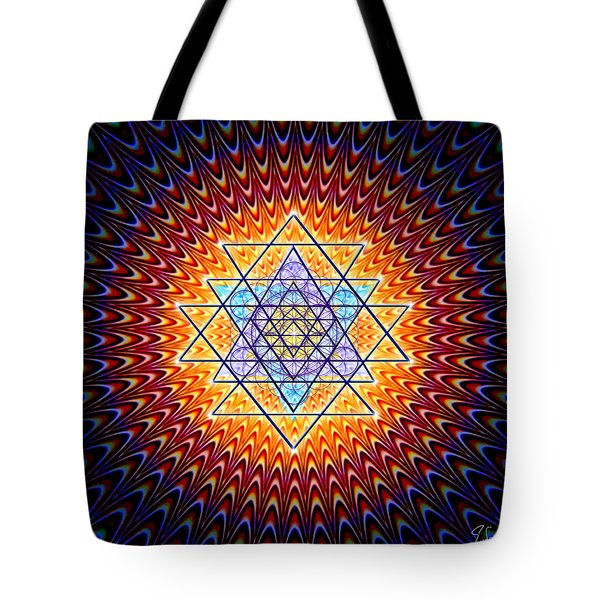 Sacred Geometry 141 Tote Bag