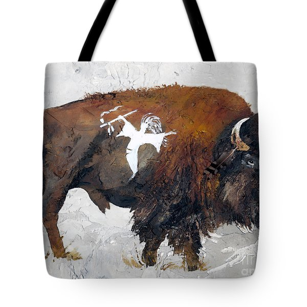 Sacred Gift Tote Bag by J W Baker