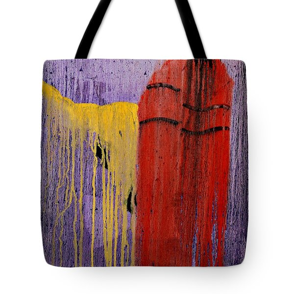 Sacred Knowledge Tote Bag by Patrick Trotter