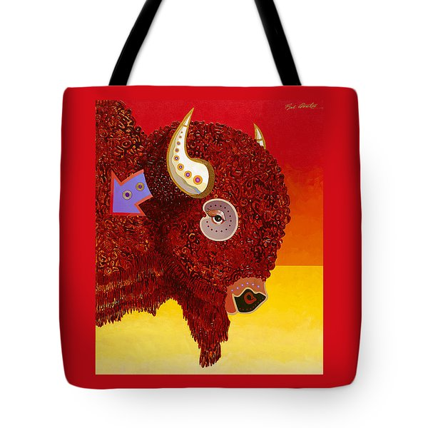 Sacred Monarch Tote Bag