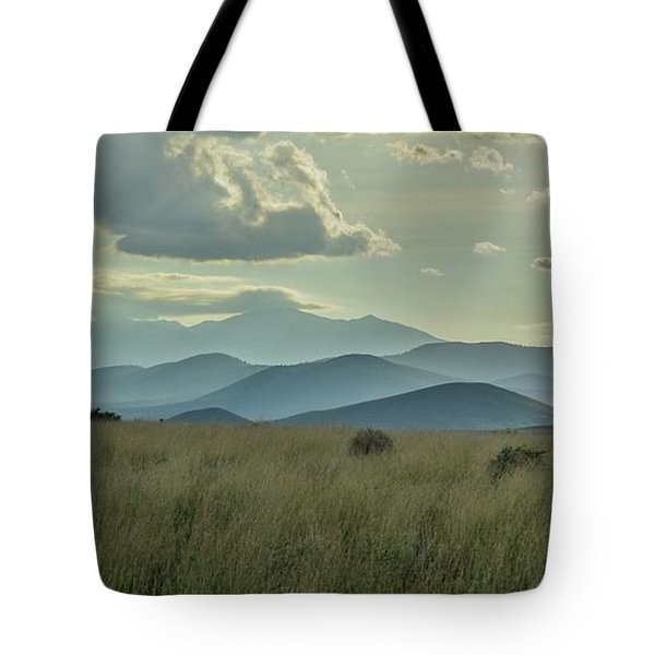 Sacred Mountain Tote Bag