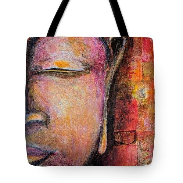 Sacred Silence Tote Bag