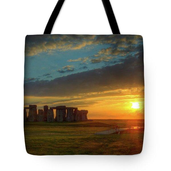 Sacred Sunset Tote Bag