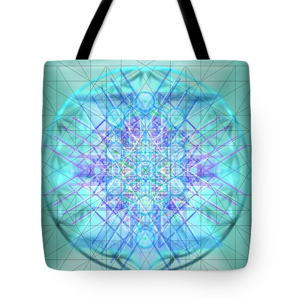Sacred Symbols Out Of The Void 3b1 Tote Bag by Christopher Pringer