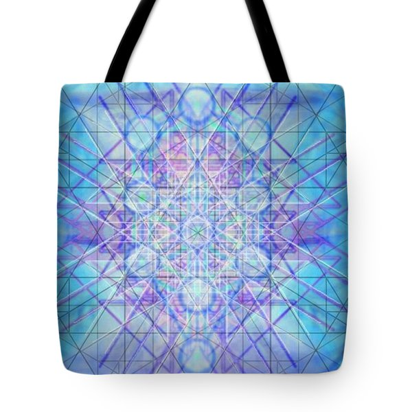 Sacred Symbols Out Of The Void A3c Tote Bag by Christopher Pringer