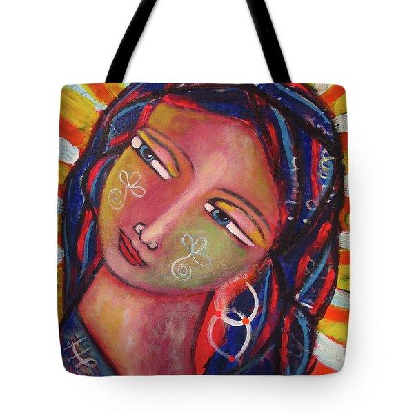 Sacred Traveler, Sacred Healer  Tote Bag