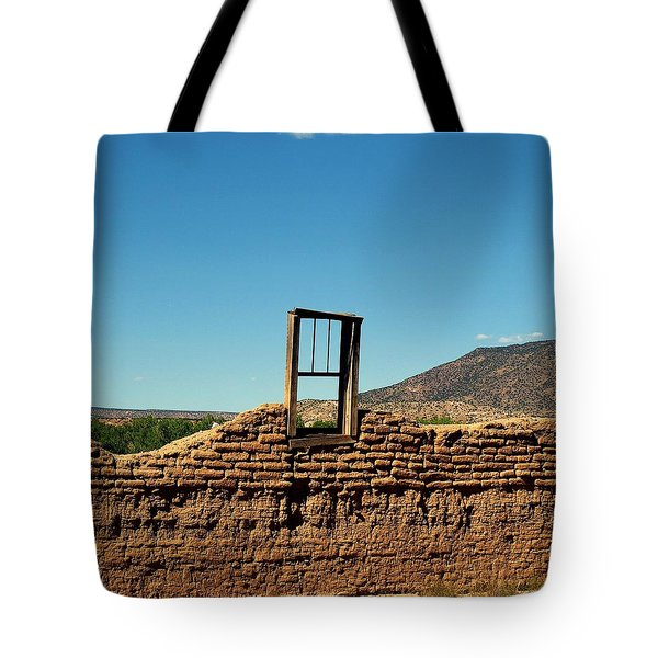 Sacred Window Tote Bag