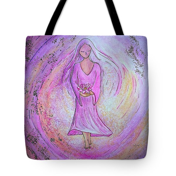 Sacred Woman Tote Bag by Gioia Albano