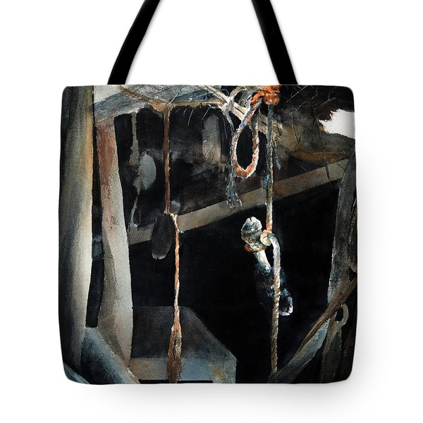Sacrifice Tote Bag by Rachel Christine Nowicki