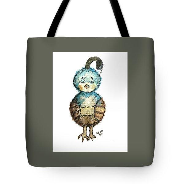 Baby Quail Tote Bag