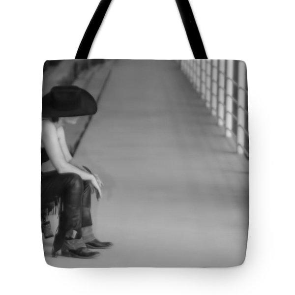 Sad Cowgirl Tote Bag