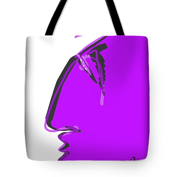 Sad Grape Tote Bag