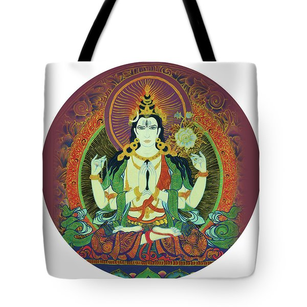 Sada Shiva  Tote Bag