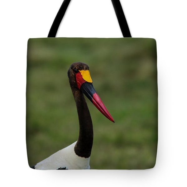 Saddle Billed Stork Tote Bag