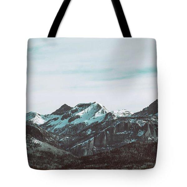 Saddle Mountain Morning Tote Bag