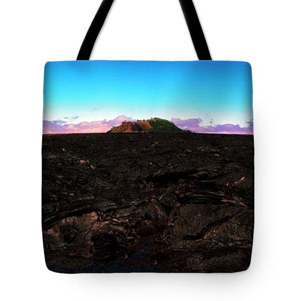 Saddle Road Humuula Lava Field Big Island Hawaii  Tote Bag