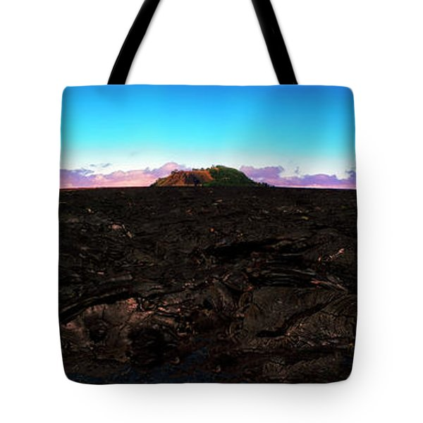 Saddle Road Humuula Lava Field Big Island Hawaii  Tote Bag