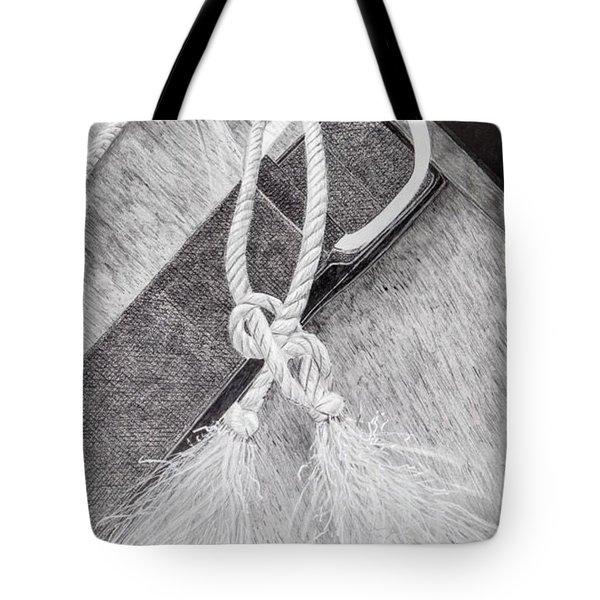 Saddle Strap Tote Bag