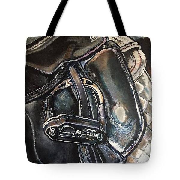 Saddle Study Tote Bag