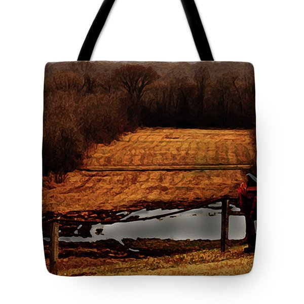 Saddle Up Enjoy The View Tote Bag by Kim Henderson