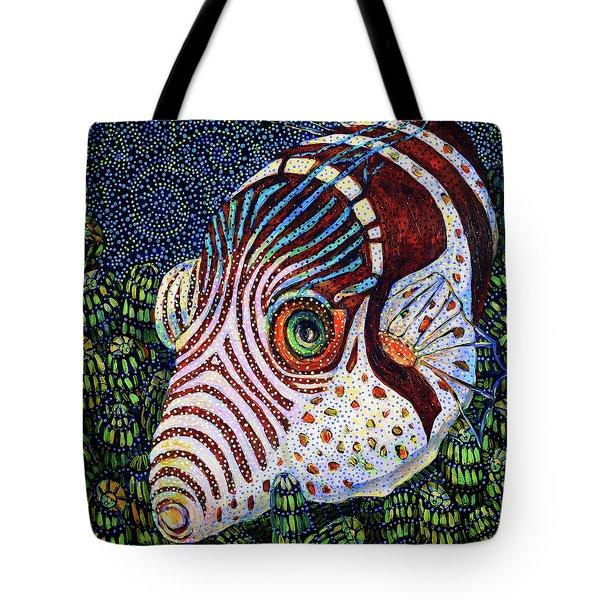 Dreamtime Saddled Puffer Tote Bag
