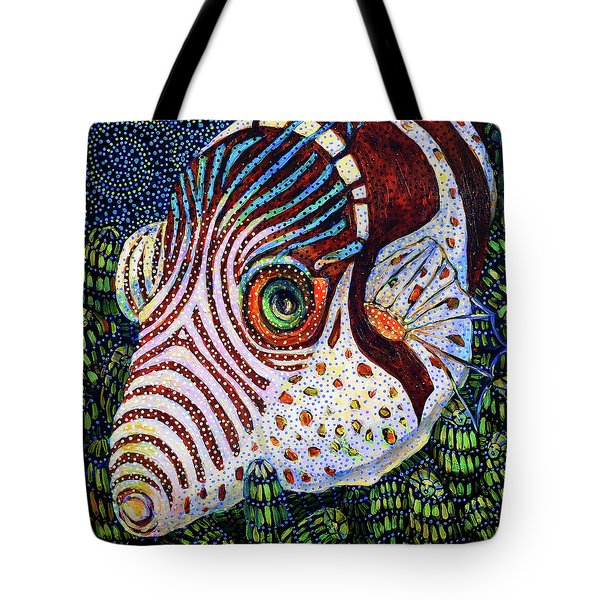 Dreamtime Saddled Puffer Tote Bag