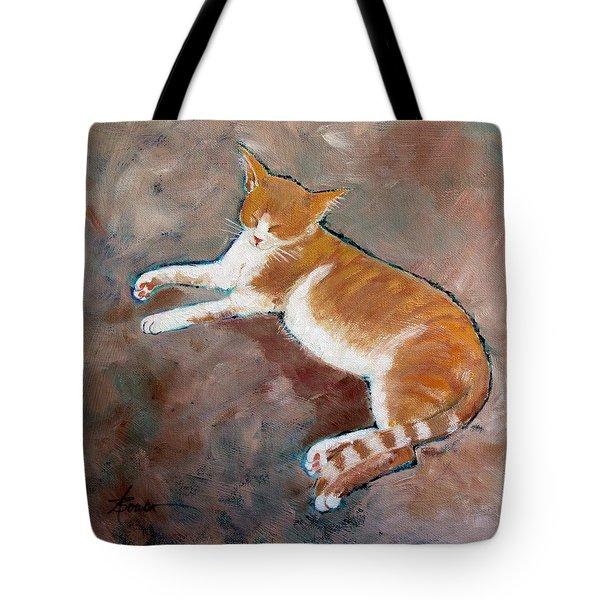Saddle Tramp- Ranch Kitty Tote Bag