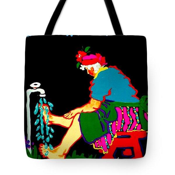 Sadie's Water Aerobics  Tote Bag
