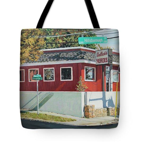 Sadlacks Restaurant Tote Bag