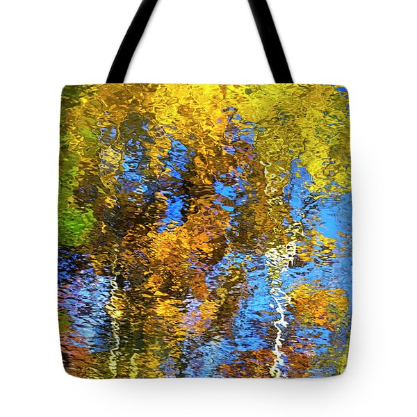 Safari Mosaic Abstract Art Tote Bag by Christina Rollo