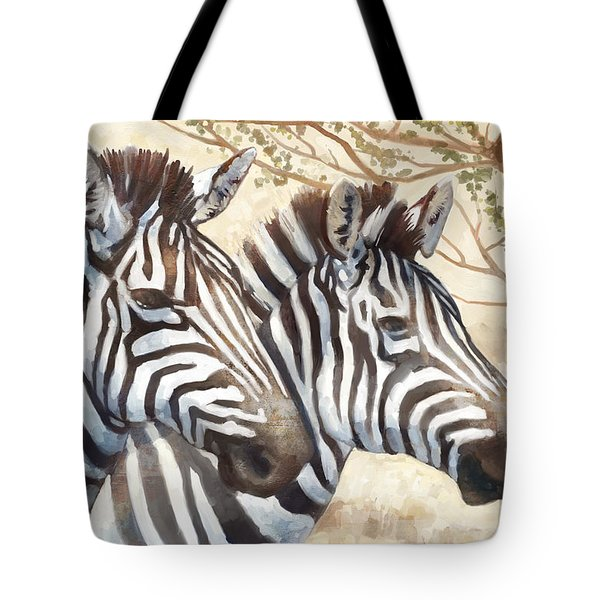 Safari Sunrise Tote Bag