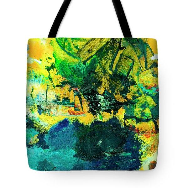 Safe Harbor #305 Tote Bag by Donald k Hall
