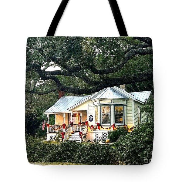 Safe Haven Christmas Tote Bag
