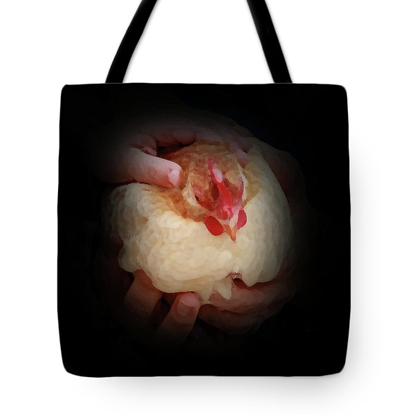 Safe In Our Hands Tote Bag by Kim Henderson