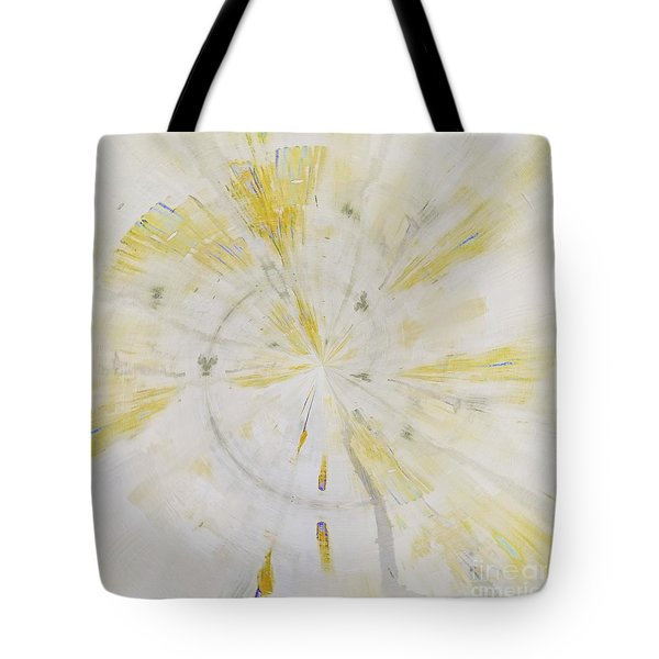 Tote Bag featuring the mixed media Safe by Jessica Eli