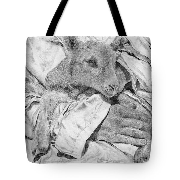 Safe Tote Bag by Jyvonne Inman