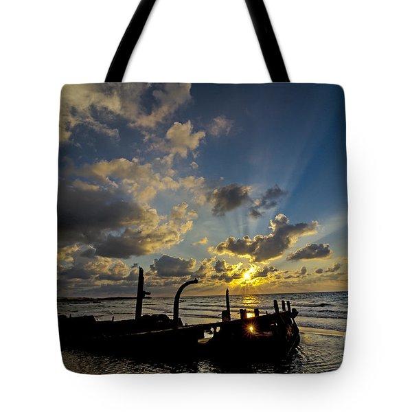 Safe Shore 03 Tote Bag