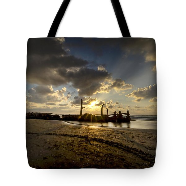 Safe Shore 04 Tote Bag
