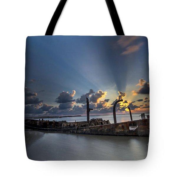 Safe Shore Tote Bag
