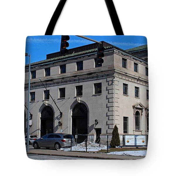 Safety Building Tote Bag