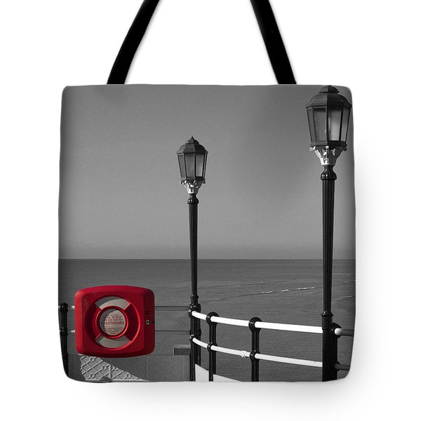 Safety First Tote Bag by Hazy Apple