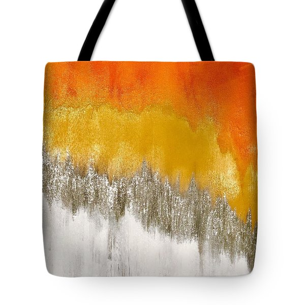 Saffron Sunrise Tote Bag
