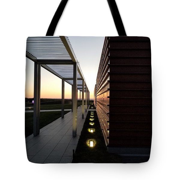 Tote Bag featuring the photograph Sag Harbor Sunset 1 by Rob Hans