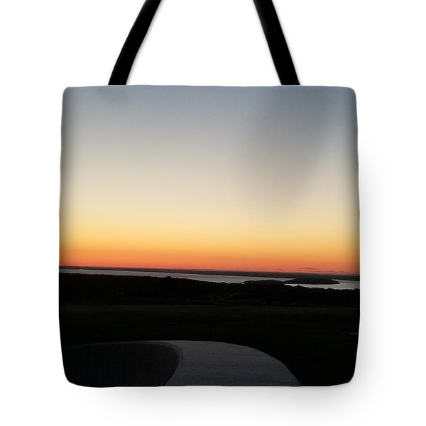 Tote Bag featuring the photograph Sag Harbor Sunset 3 by Rob Hans
