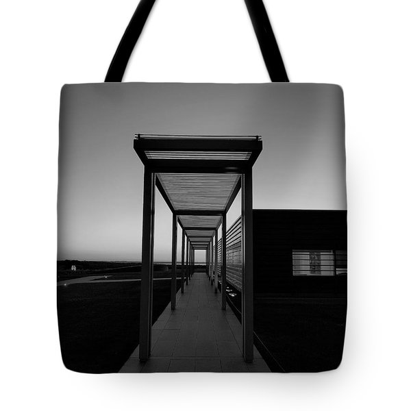 Tote Bag featuring the photograph Sag Harbor Sunset In Black And White by Rob Hans